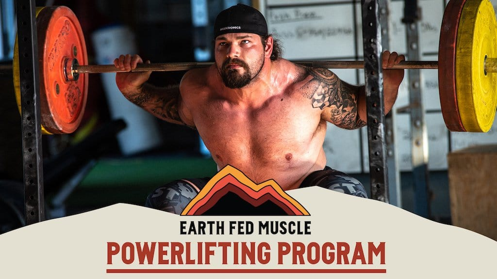 powerlifting deadlift squat bench program