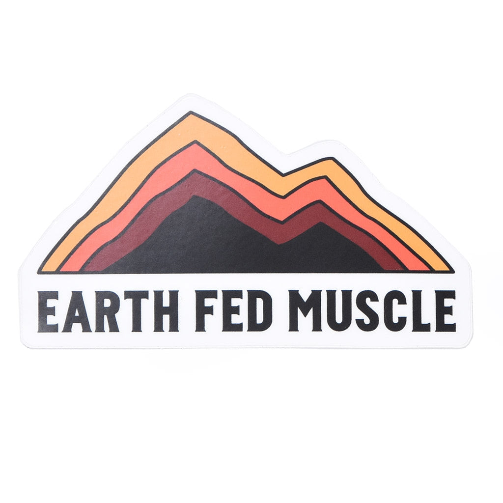 Earth Fed Die Cut Stickers