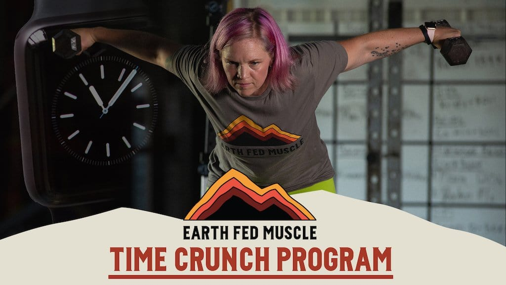 Time crunch busy schedule lifting program