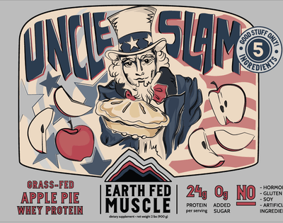 Uncle Slam - Apple Pie Grass Fed Protein Uncle Slam - Apple Pie Grass Fed Protein