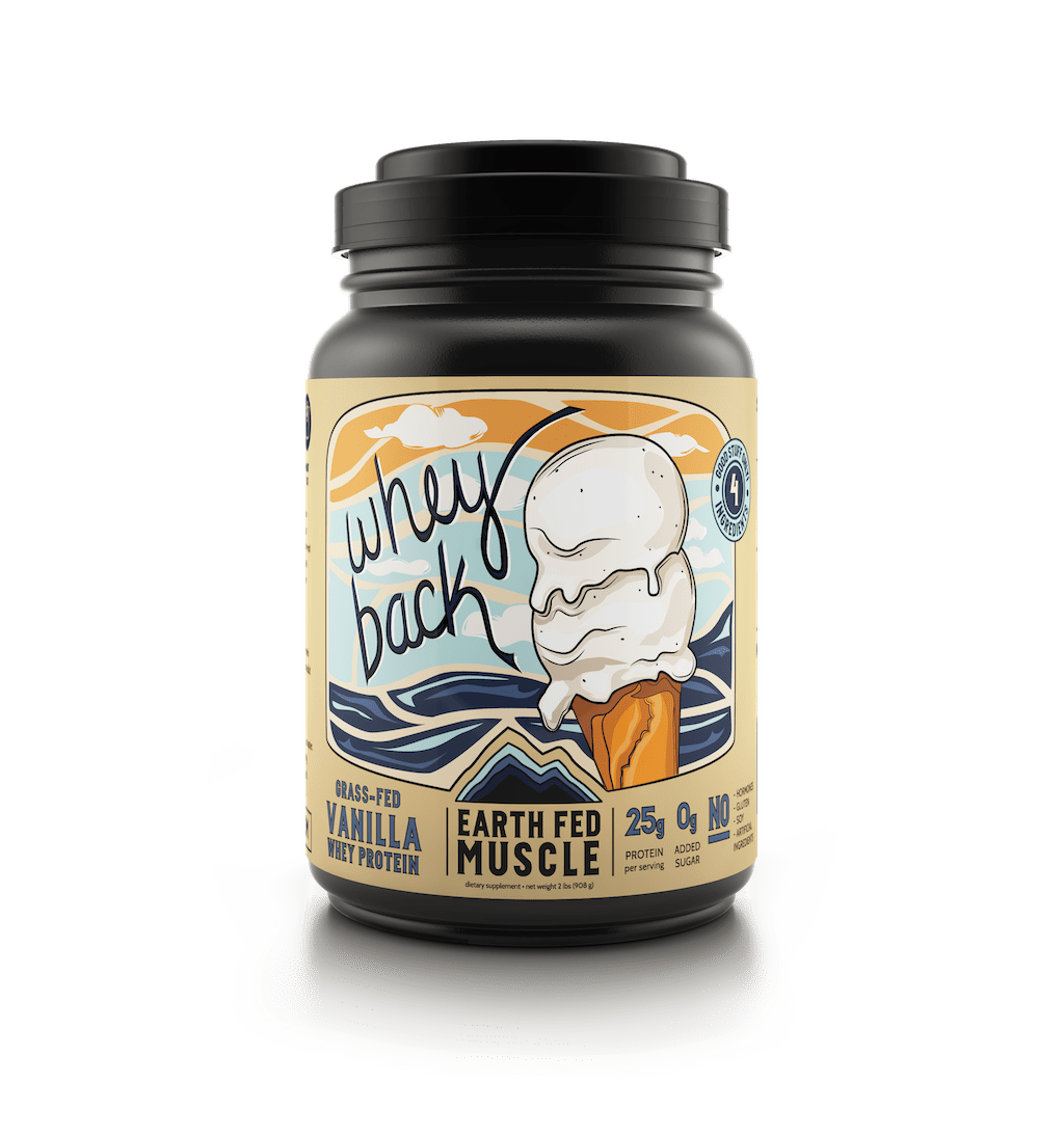 Whey Back Vanilla Protein (Backordered)