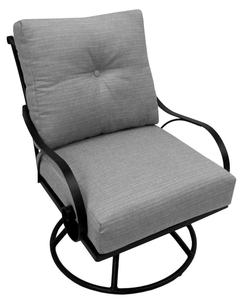 Monticello Club Swivel Rocker