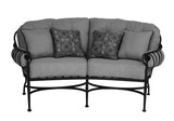 Athens Crescent Loveseat