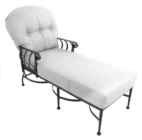 Athens Chaise with Swing Out Arm