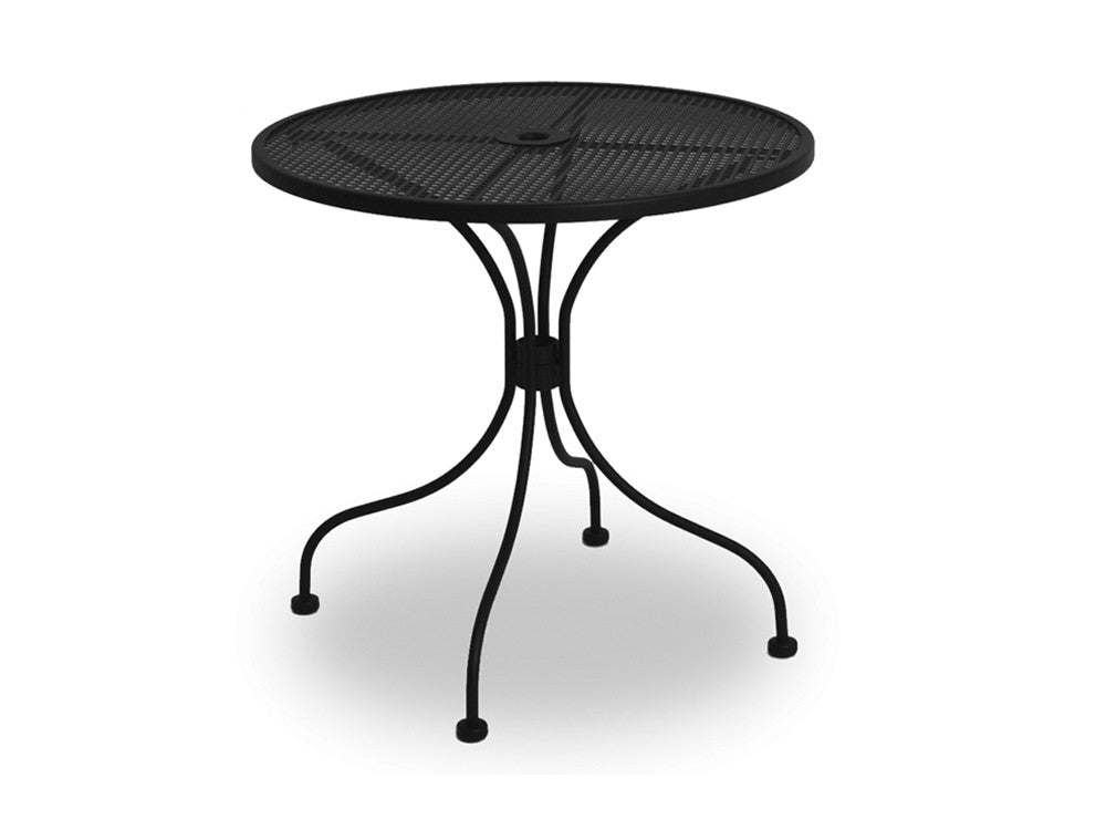 Sannibel Cafe Table with Perforated Mesh