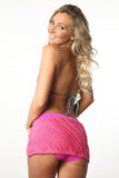 Pink Rufflette Swim Skirt