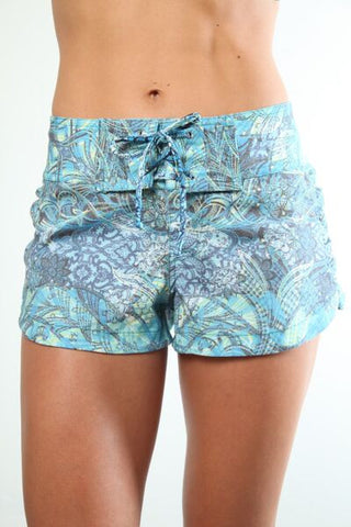 Aqua Lace Hilary Trunk
