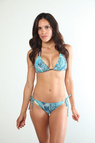 Aqua Lace Kelsey Top