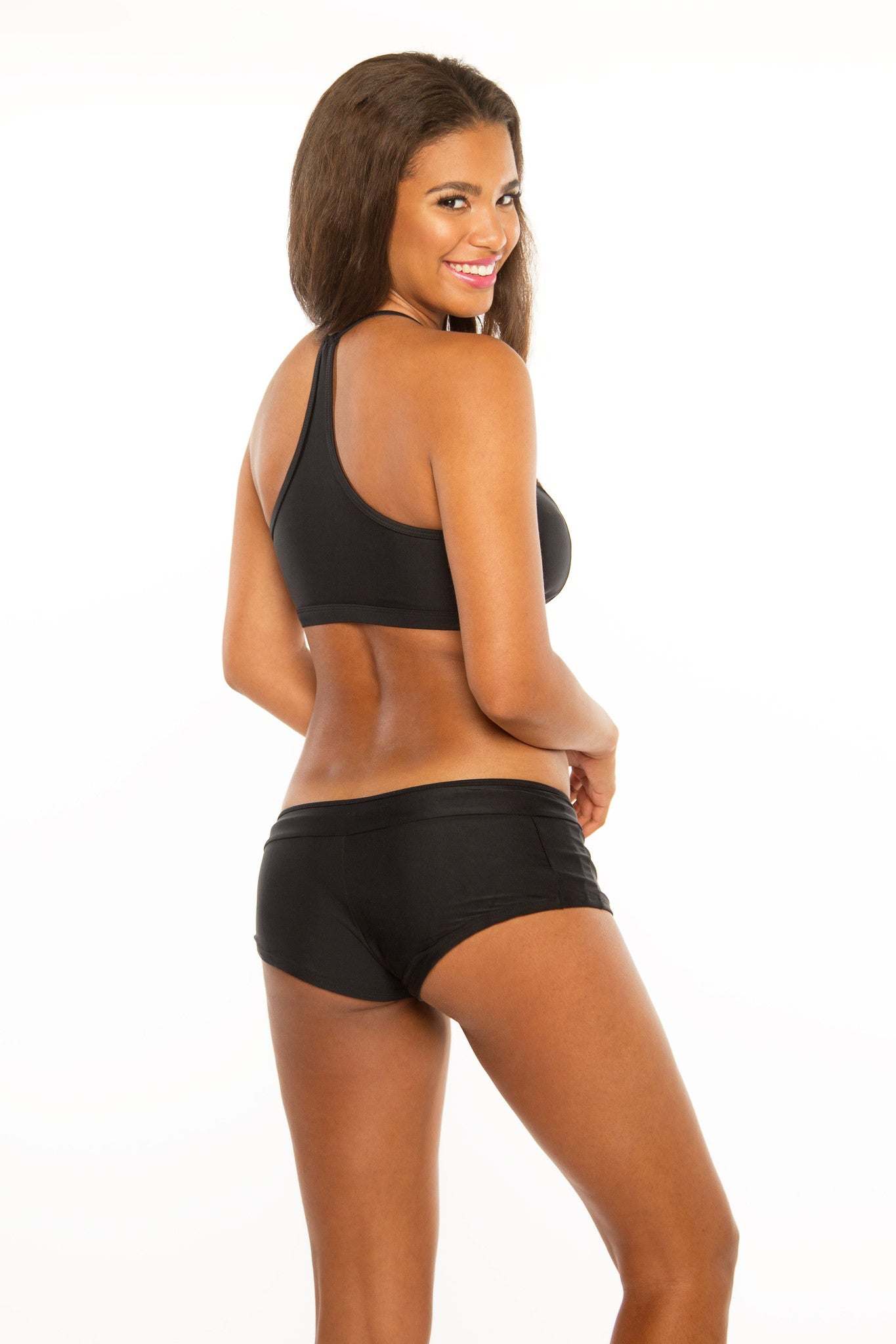 Get Sporty Black Bottom