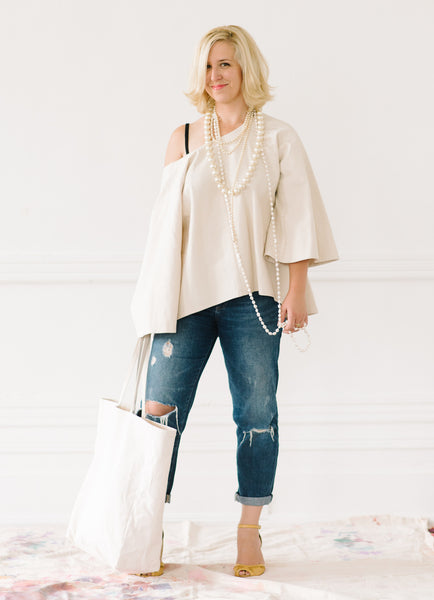 BELL SLEEVE TOP - by TIFFANY PRATT