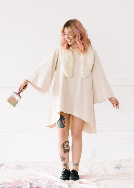 BELL SLEEVE TUNIC - by TIFFANY PRATT