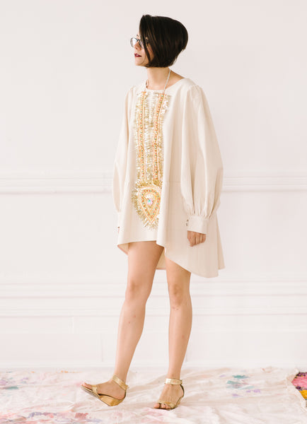 BISHOP SLEEVE TUNIC - by TIFFANY PRATT