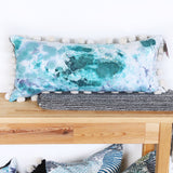 "HAND-DYED PILLOW #29 - 15"" x 32"" - by TONIC LIVING"