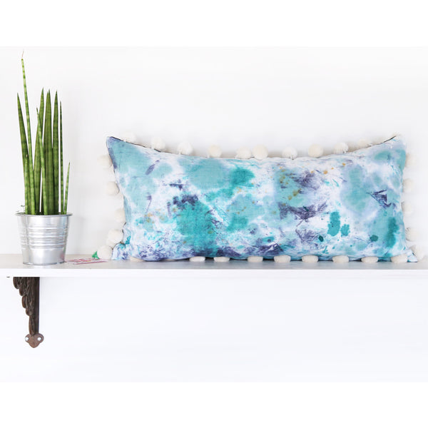 "HAND-DYED PILLOW #30 - 15"" x 32"" - by TONIC LIVING"