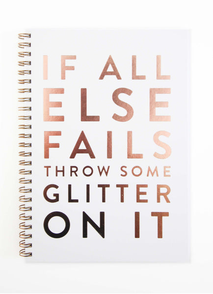 "JOURNAL ""GLITTER ON IT"" - by THE PENNY PAPER CO."
