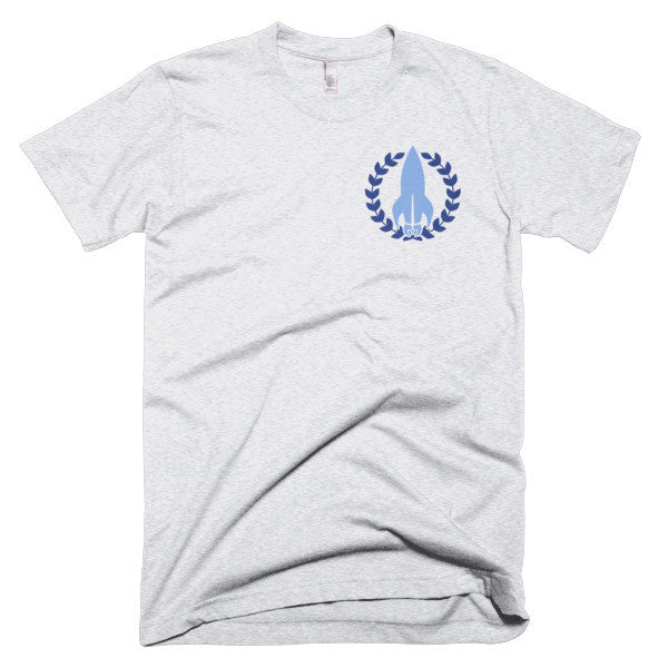 """The Discreet Tee"" NoFap Tee - Blue - NoFap"