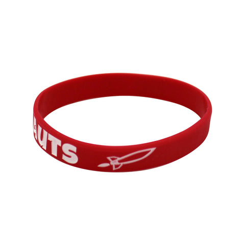 'The Fapstronauts' Wristband - Red
