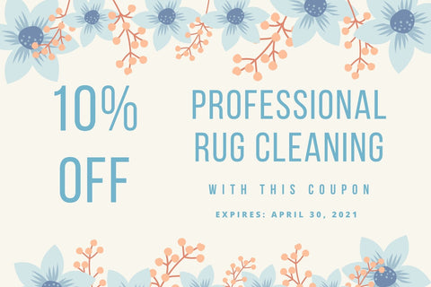 Spring Rug Cleaning Coupon