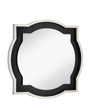 1037-Silve Leaf/Black Accent Clove-Mirror