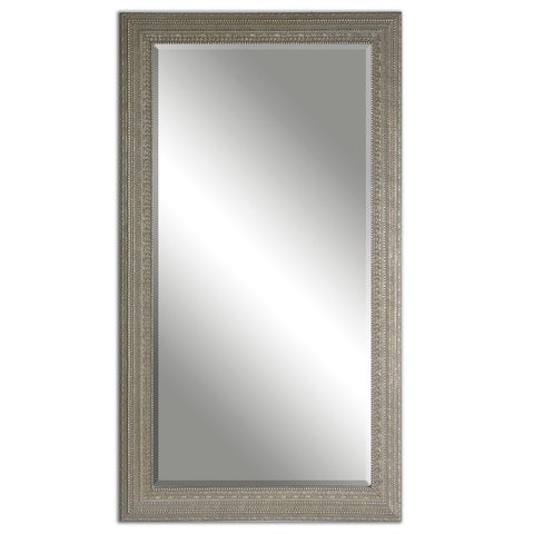 1041-Carved Frame/Silver-Mirror