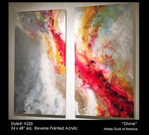 1119-Divine Set/2-Wall Art