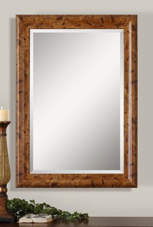 1247-Old Barn Wood Look-Mirror