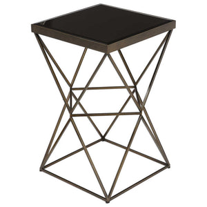 1265-Uberto Accent cris cross table-Accent table