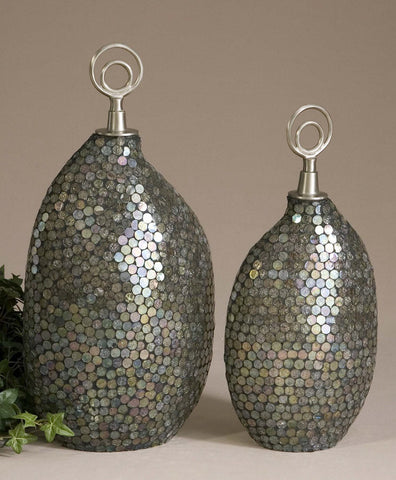 1274-Deshal, Canisters Set of 2