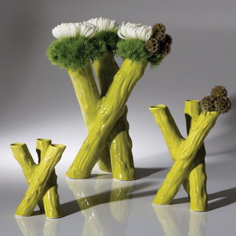 1302-Kindling Tulipiere-Apple-Medium-Vases