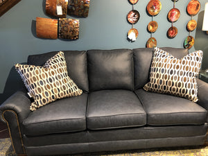1350-Antique Cherry Jackson Sofa