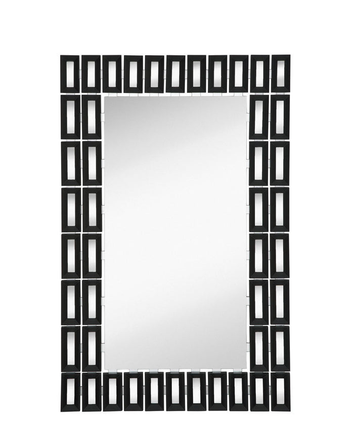Black with Mirror Panels