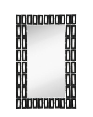 302-Black with Mirror Panels-Mirror
