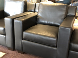 Black Panther Leather Chairs