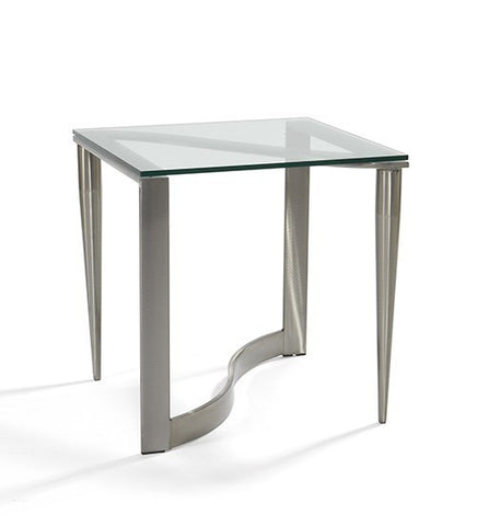 595-Malta End Table /Slate Finish-End Table