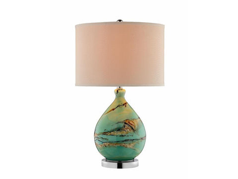 7855-Glass Table Lamp-Lamp