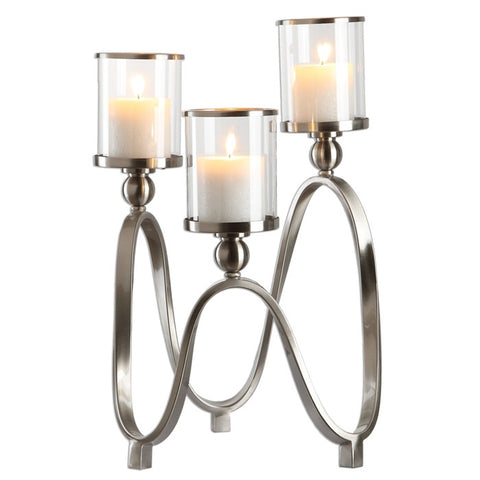 7917-Akiro, Candelabra-Candle Holders