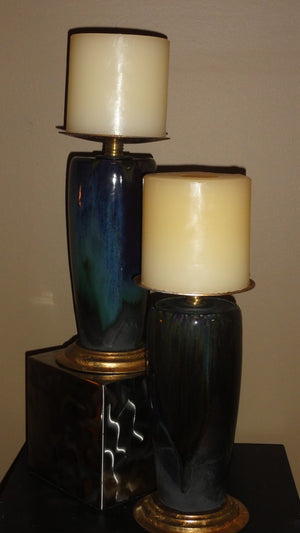 794-Peacock Candle Stand-Candle Stand