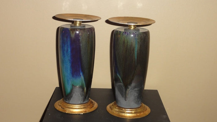 Peacock Candle Stands
