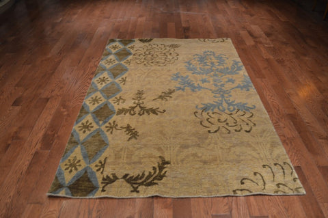 9583-Small-Contemporary-Wool/Viscose-rugs
