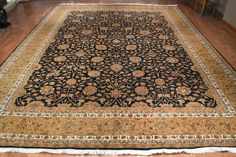 9721-9x12-Traditional-Silk & Wool-rugs