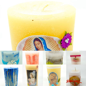 Poor Clare Missionary Sisters Candles