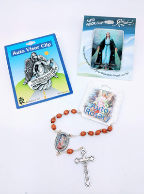 Visor Clips and Car Rosaries