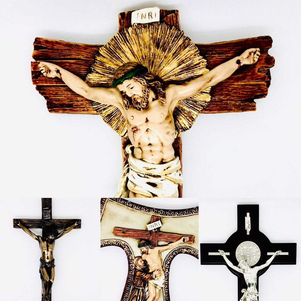 Wall Crucifixes and Crosses for Dad
