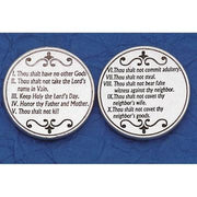 The Ten Commandments Italian Pocket Token Coin - Unique Catholic Gifts