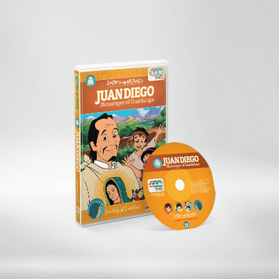Juan Diego Messenger of Our Lady of Guadalupe Children's DVD JMJ