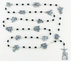 15 Stations of the Cross Rosary (Handmade)
