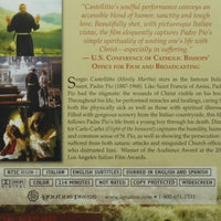 Padre Pio: Miracle Man DVD Sergio Castellitto - Unique Catholic Gifts