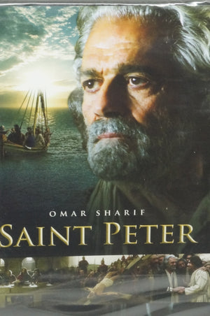 Saint Peter DVD (Omar Sharif) - Unique Catholic Gifts