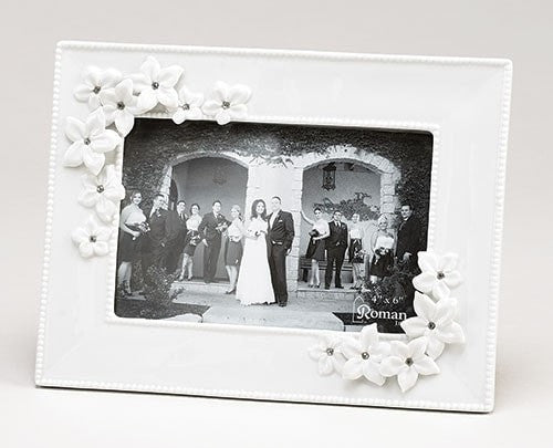 Wedding Frame Photo 4x6: LOVE BLOOM - Unique Catholic Gifts
