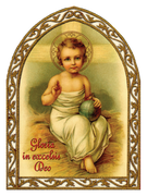 Gloria In Excelsis Deo Christmas Greeting Card